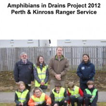 Amphibians in Drains Report 2012