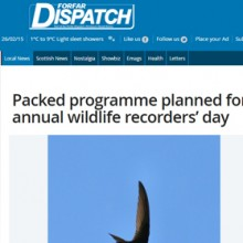 Packed programme planned for annual wildlife recorders' day