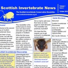 Scottish Invertebrate News Oct 2010