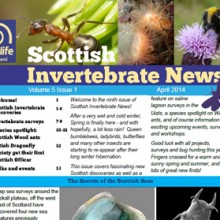 Scottish Invertebrate News April 2014