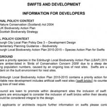 Swifts & Development