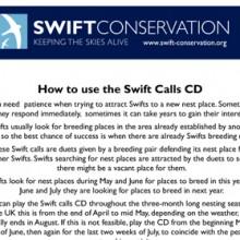 Swift Call CD