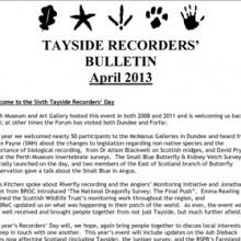 Tayside Recorders Bulletin April 2013