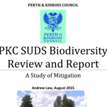 SUDS Biodiversity Review (Perth & Kinross) 2015