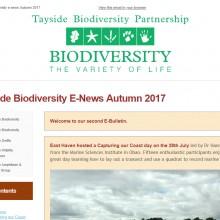 Tayside Biodiversity E-News 2