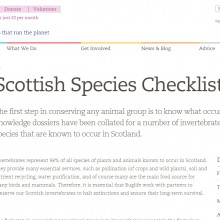 Scottish Invertebrates Species Knowledge Dossiers