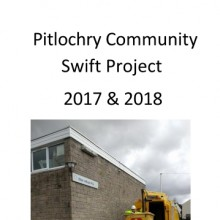 Pitlochry Community Swift Project 2017-18
