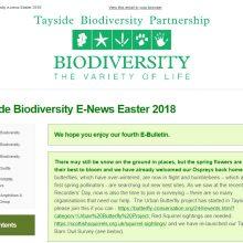 Tayside Biodiversity E-News 4