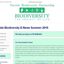 Tayside Biodiversity E-News 5