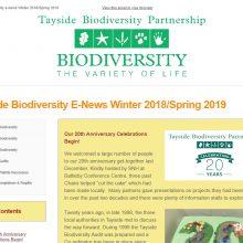 Tayside Biodiversity E-News 6